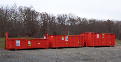 About Our Roll Off Containers